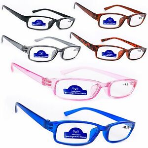 Woman-Man-Anti-Glare-reading-Glasses-0-5-1-0-2-0-3-0-Slimming
