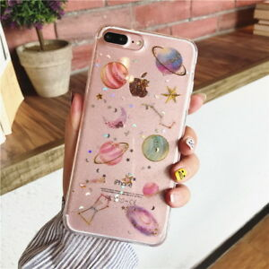 Shockproof-Silicone-Galaxy-Clear-Phone-Case-Cover-for-iPhone-11-Xs-Max-7-8-Plus