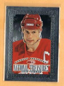 1997-98-Donruss-Preferred-Silver-Steve-Yzerman-179-Detroit-Red-Wings