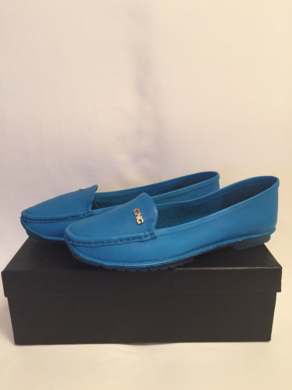 LEATHER MOCCASIN FOR WOMEN SUZANA RICCI 39 SIZE