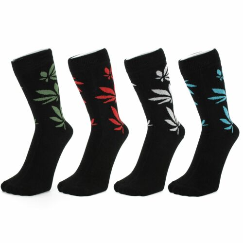 Size: 4-7 Cannabis Design Ankle Socks