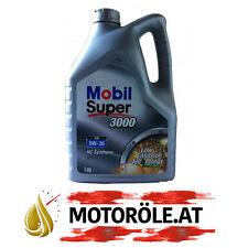 5 Liter 5W-30 Mobil Super 3000 XE 5W30 Motoröl VW 502.00 505.00 505.01 ACEA C3