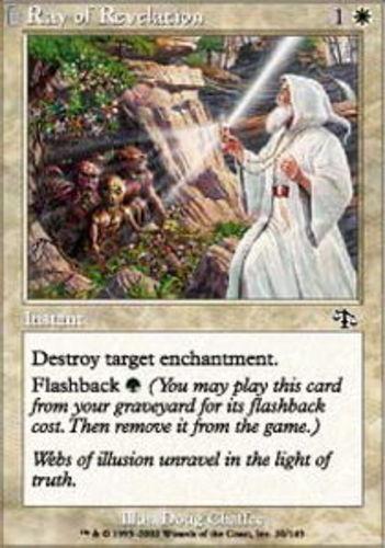 4x Ray of Revelation NM-Mint English Judgment MTG Magic
