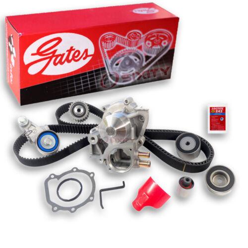 mf Gates Timing Belt Water Pump Kit for 2004-2007 Subaru Impreza 2.0L 2.5L H4