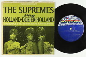 Jukebox Hard Cover EP - Supremes - Sing Holland-Dozier-Holland - MT 60650