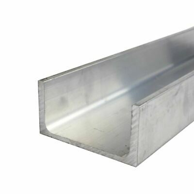 "2/"" X 3/"" X 1//4/"" X 6/"" Long Aluminum Angle 6061-T6"