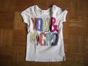 Grd-BELLA-T-shirt-a-maniche-corte-bianco-crema-TGL-128-Age-7-8