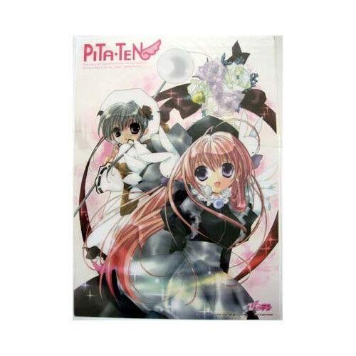 Pita Ten Misha and Shia Plastic Clear Poster Anime MINT