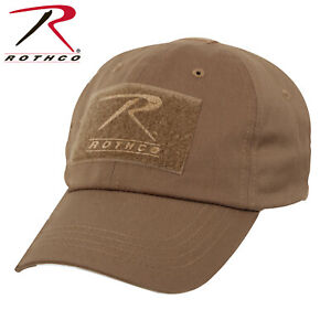 Image is loading Coyote-Brown-Military-Low-Profile-Adjustable-Tactical-Hat- b624704f267b