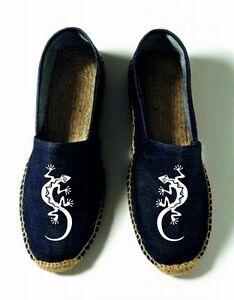 Uomo Tessuto Vintage donna Jeans Espadrillas 8XqA1q