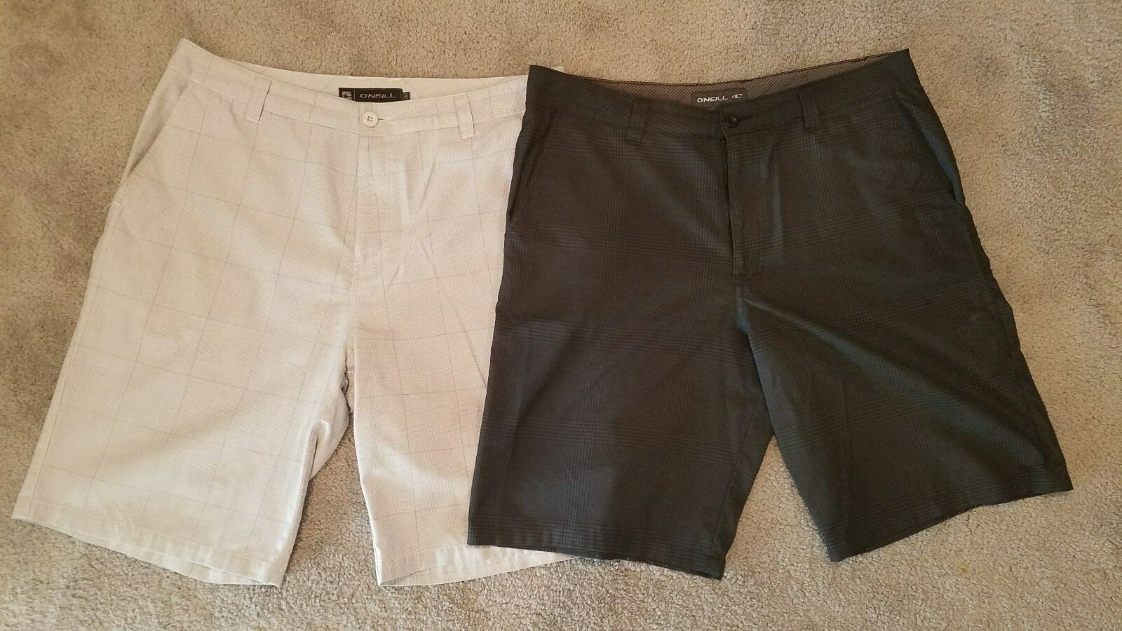 Two mens O'neill shorts 36
