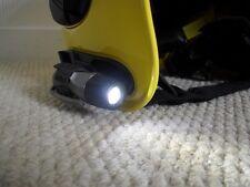 Gallet LED Helmet Torch & Helmet Mount - MSA by PELI XS - Used & Fully Working