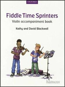 Fiddle Time Sprinters Violon Accompagnement Music Book-afficher Le Titre D'origine