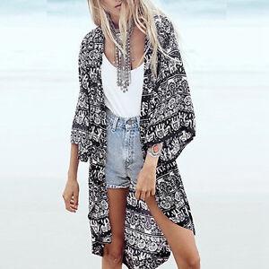 EG-Women-Boho-Kimono-Cardigan-Summer-Loose-Floral-Printed-Blouse-Top-Eyeful