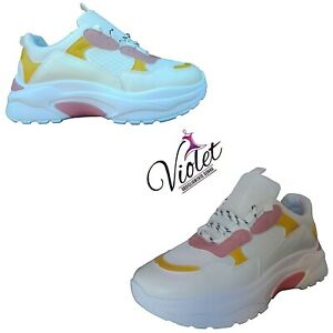 Scarpe-da-Ginnastica-Donna-Sneakers-Sportive-estive-con-zeppa-Comode-moda-2020
