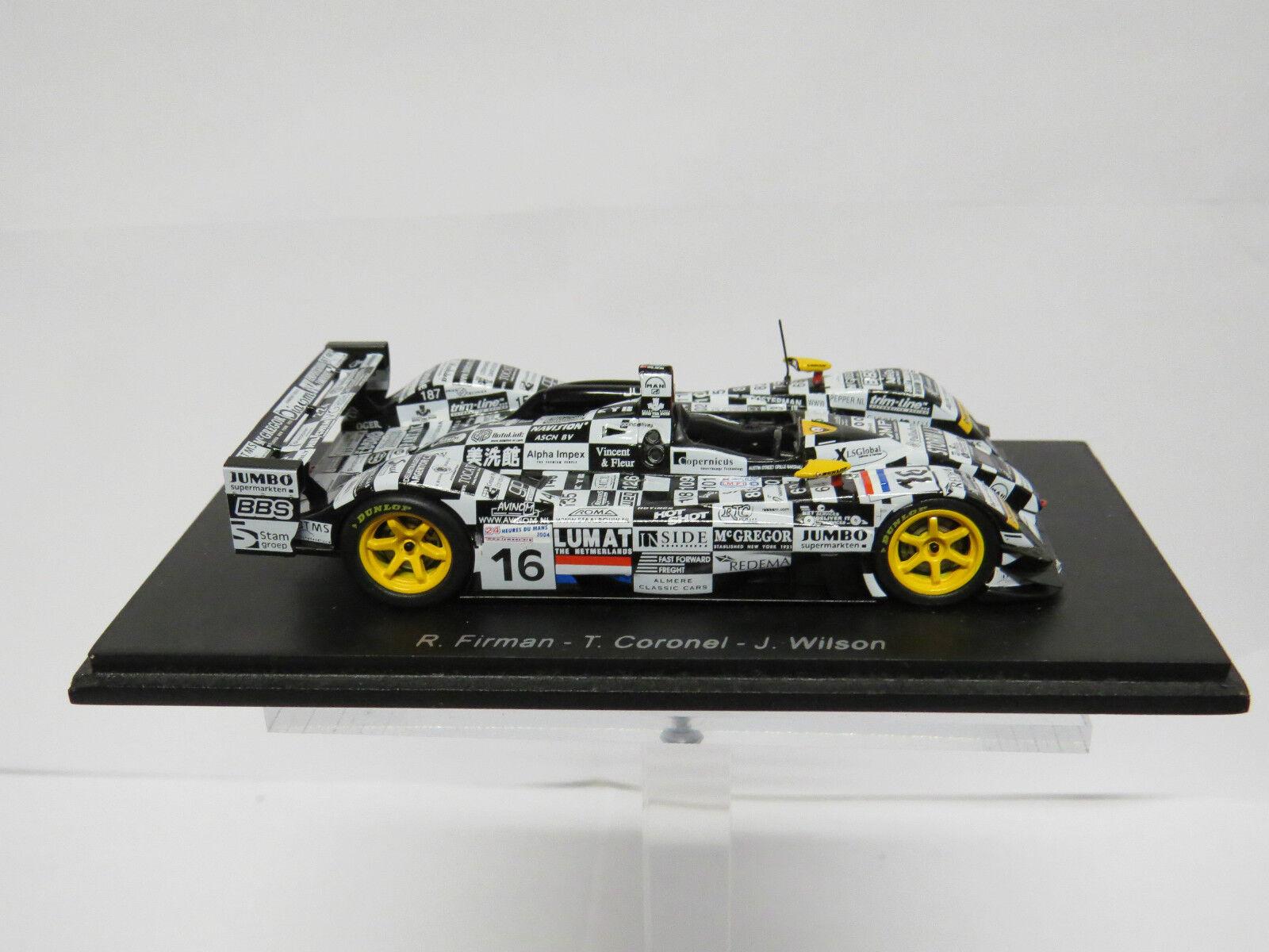 Dome S101-Judd nº16 Le Mans 2004 Spark 1 43 S0056
