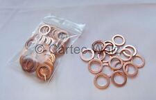 50 STÜCK Kupferringe Dichtringe Dichtungen Cu 12x18x1,5 mm DIN 7603 Form A