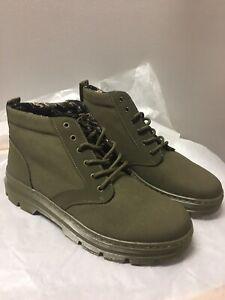Bonny II Chukka Boots DMS Olive Canvas
