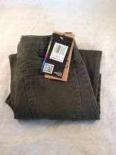 NWT HURLEY BOYS SLIM FIT Pants Utility Green SIZE 6