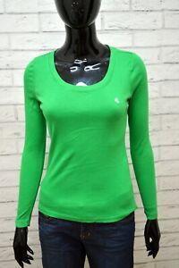 RALPH-LAUREN-Blusa-Maglia-Girocollo-Donna-Taglia-XS-Camicia-Shirt-Women-Jersey