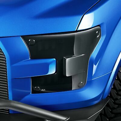Auto Ventshade 37803 Dark Smoke Headlight Covers for 2001-2010 Ford Ranger