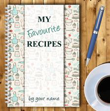 A5 Personalizado receta planificador, escribe tu propio recetas, Saludable Recetario,04