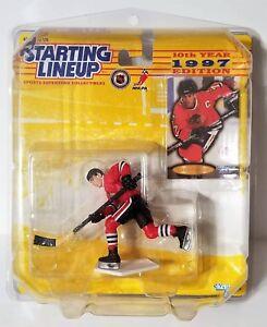 1997 Starting Lineup Chris Chelios Chicago Blackhawks SLU With Protective Case