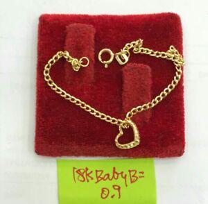 Gold-Authentic-18k-gold-baby-bracelet