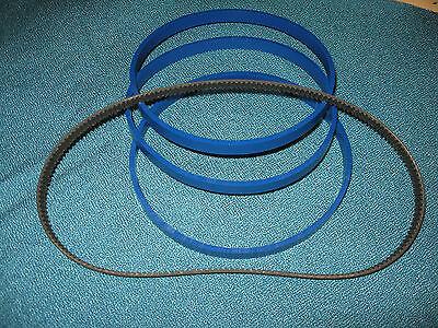 3 Blue Max Urethane Band Saw Tires And Drive Belt For Craftsman 113.244530 Saw Het Verstrekken Van Voorzieningen Voor Het Volk; Het Leven Gemakkelijker Maken Voor De Bevolking