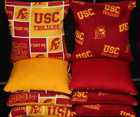 All Weather Cornhole Beanbags Usc Trojans 8 Plastic Resin Filled Bags