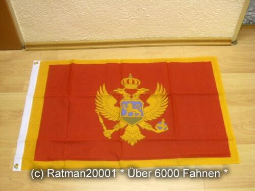 Fahnen Flagge Montenegro 60 x 90 cm