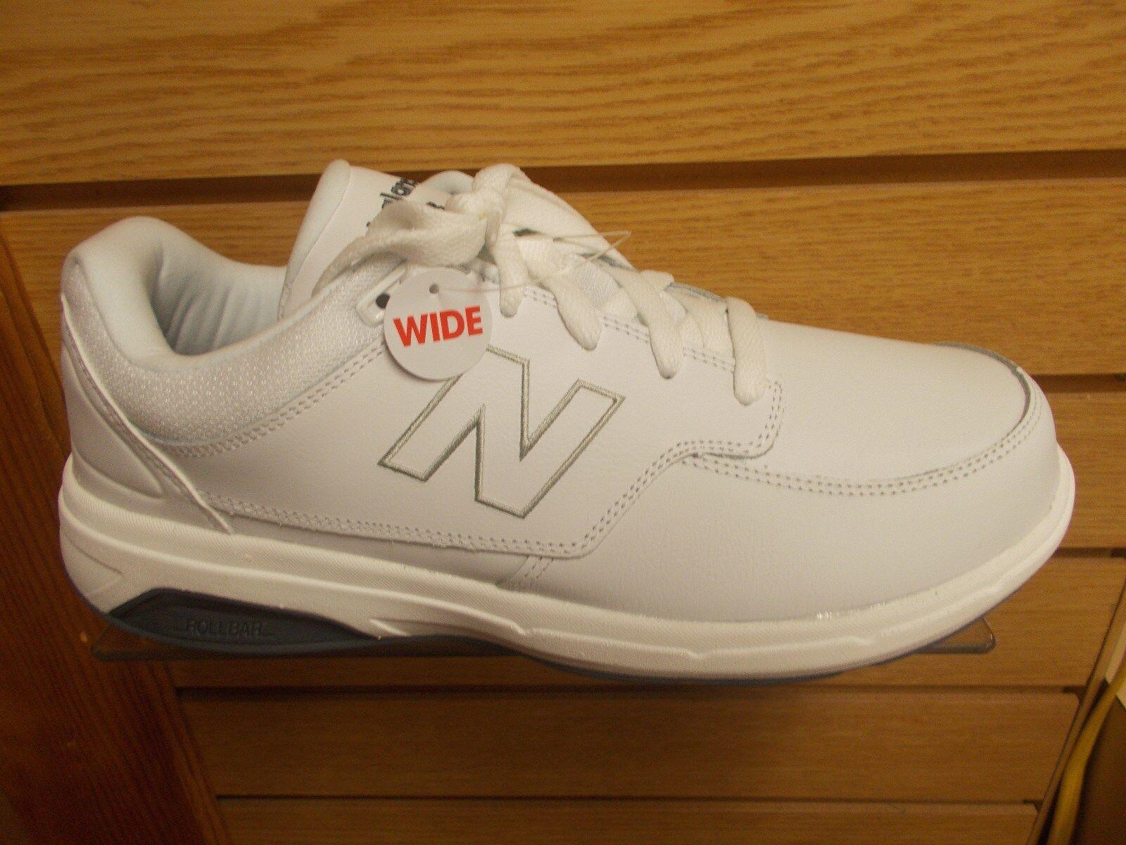 New balance MW 813 Para hombres Zapatos para caminar Ancho 2E Ancho blancoo Varios Tamaños Nuevo