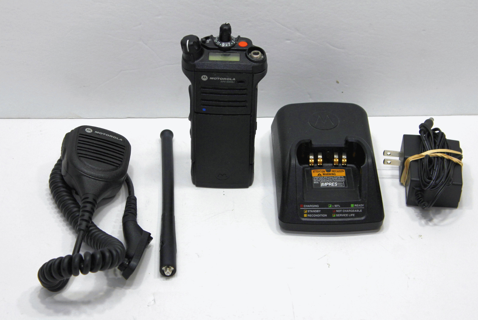 TESTED MOTOROLA APX APX6000 P25 TDMA RADIO 136-174 MHZ VHF MHZ DIGITAL RADIO LOT. Available Now for 1369.99