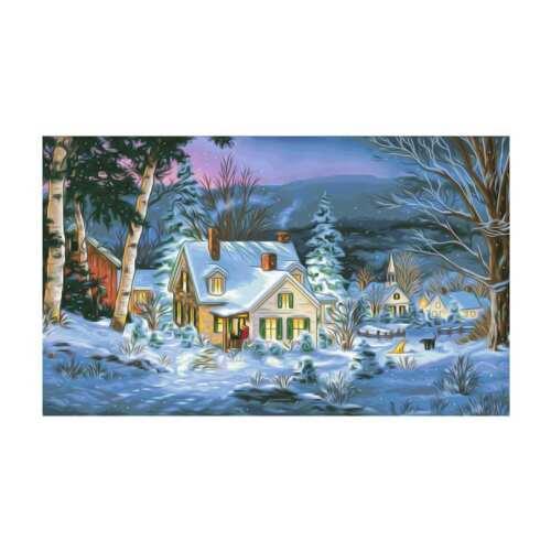 Xmas 5D DIY Diamond Painting Santa Claus Embroidery Cross Stitch Art Home Decor