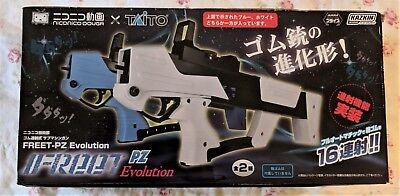 Kids /& Teens NicoNico x Taito Super Machine Rubber Band Gun White