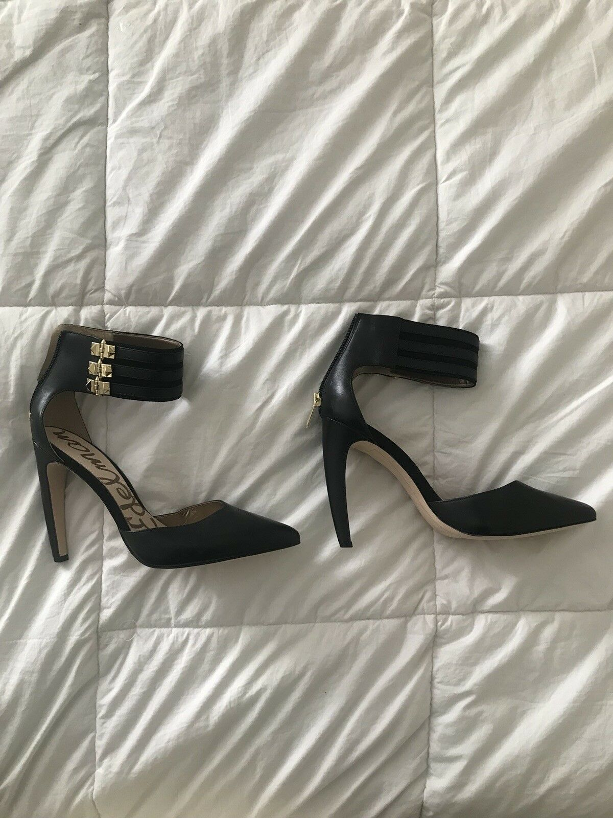 Sam Edelman Pumps With Ankle Strap Sz 8.5