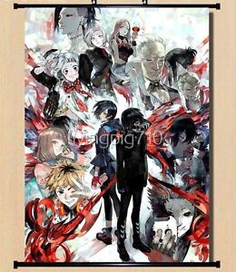 "Hot Japan Anime Cosplay Tokyo Ghoul Ken Home Decor Wall Scroll 8""×12"" 001"