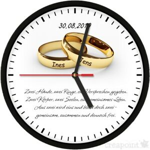 Frasi Matrimonio Orologio.320 Orologio Da Parete Matrimonio Name Data Nozze
