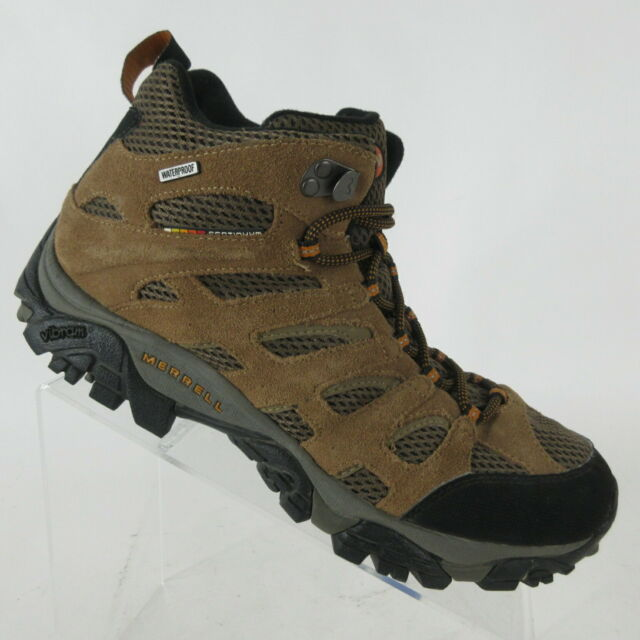 merrell mens moab fst mid waterproof hiking boots price