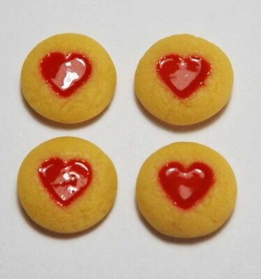 20 Dollhouse Miniature Crackers Cookies *Doll Mini Food Bakery Cookie Biscuit