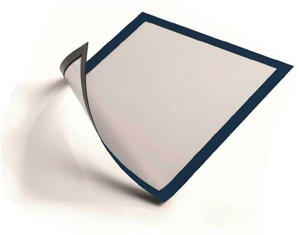 Magnetrahmen DIN A4 magnethaftend dunkelblau Btl. a 5 St. | Won hoch geschätzt und weithin vertraut im in- und Ausland vertraut  | Schön geformt  | Schönes Aussehen