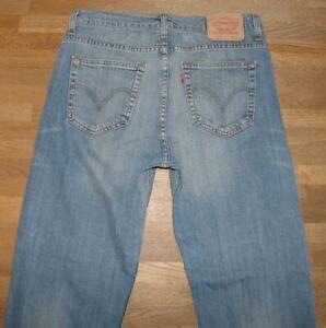 """>>> Levi `S 752 D' Homme Jeans / Levis Bleu Jeans en Bleu Env. W32 """" / L33 """""""