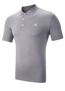 Adidas-Performance-Golf-Polo-Shirt-XXL-ONLY-Mid-Grey-1st-Class-Post