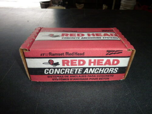 """100 RED HEAD stainless steel dynabolt Sleeve Anchors 1//4/"""" x 2 1//4/""""  SFS-1420"""
