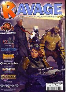 Charmant Magazine Ravage N° 55 Octobre Novembre 2009 MatéRiaux Soigneusement SéLectionnéS