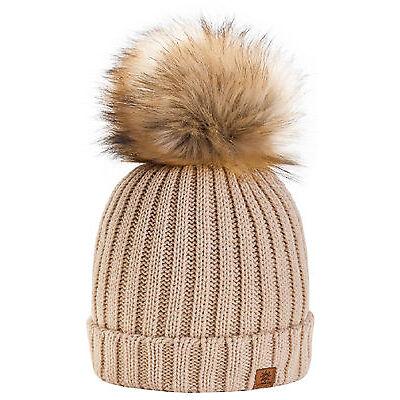 Unisex Kids Children Knitted Beanie Hat Hats Cap Winter Worm Girls Boys Bubble 3