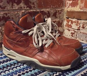 newest 27bd5 add84 Image is loading Nike-Air-Trainer-SC-High-Premium-Curry-Brown-