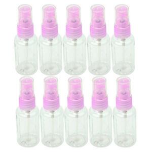 10-Flacon-Vide-30ml-Vaporisateur-Atomiseur-Spray-En-Plastique-Pr-Liquide-Parfum