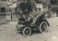 Ü350 AK MOTORWAGEN IDEAL VON BENZ VON 1899 - VERLAG METZ TÜBINGEN
