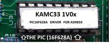 PIC16F628A driver for the AD9833 DDS Signal Generator Module.